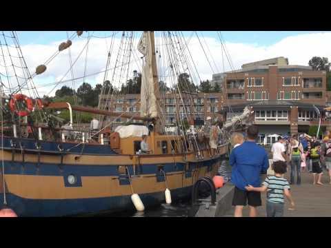 2014-08-31-Kirkland waterfront, walk
