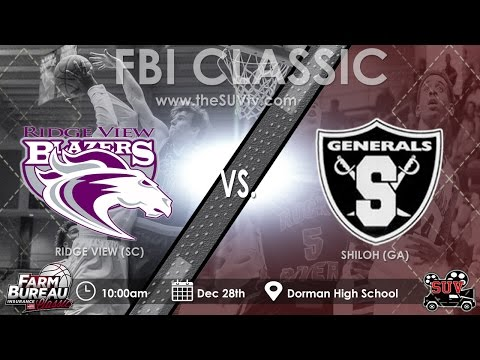 2016 Farm Bureau Insurance Classic: Shiloh (GA) vs. Ridge View (SC)