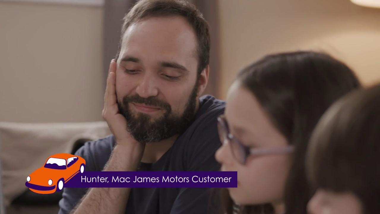 Mac James Motors >> Hunter S Story Getting A Car With Bad Credit Mac James Motors