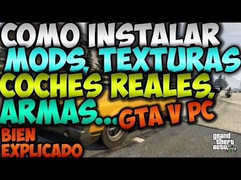 Como instalar Mods en GTAV para PC (Grand Theft Auto 5 Tutorial de Mods) | FunnyDog.TV