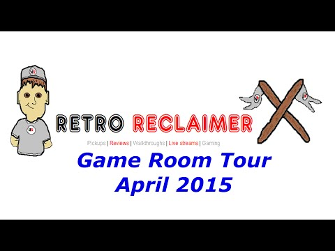 Video Game Collection Tour April 2015