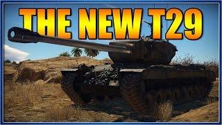 best us premium tank   the t29   war thunder