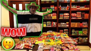 TURNING MY HOUSE INTO A GIANT MEXICAN CANDY STORE!