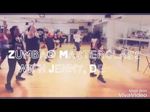 Zumba masterclass with Tiffany Jenny and Denise