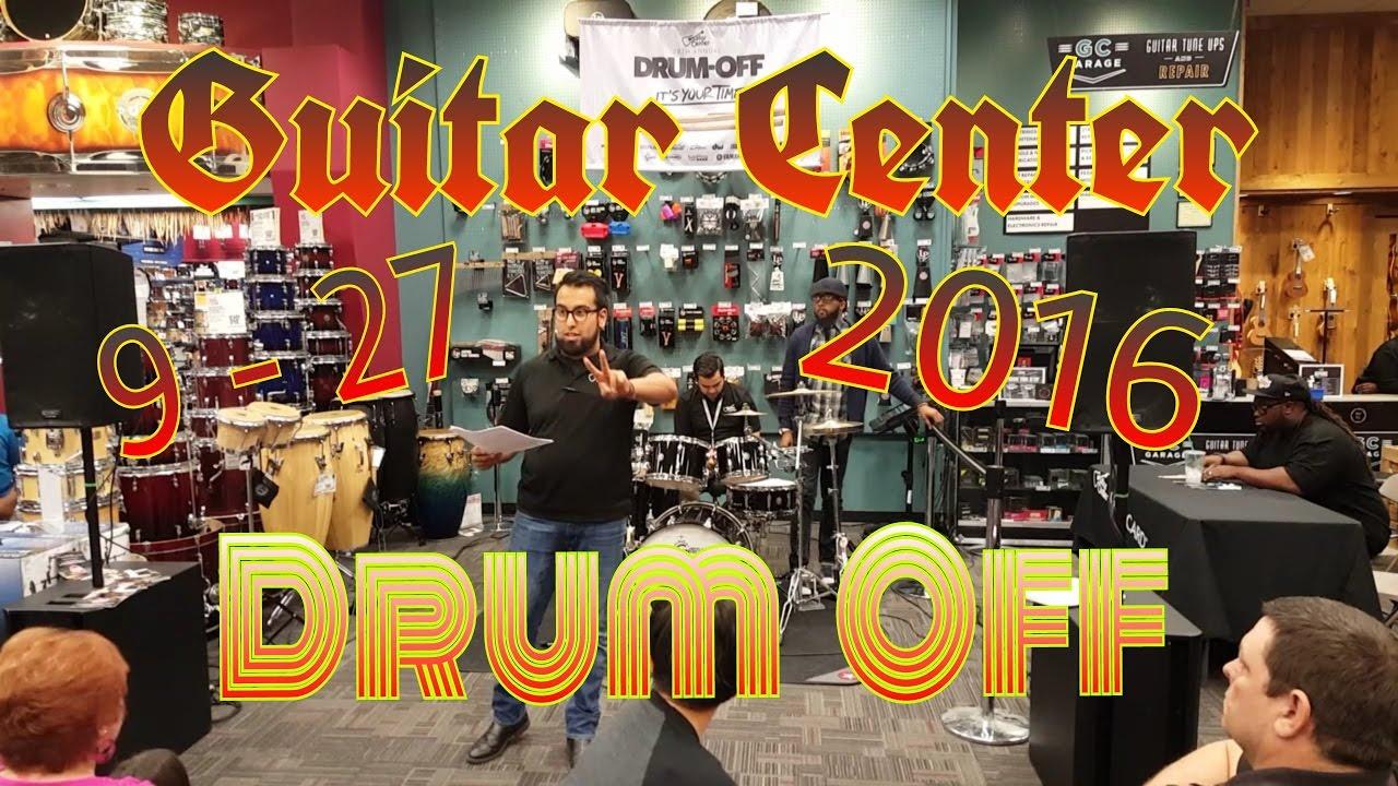 drum off at guitar center san antonio tx 09 27 16 youtube. Black Bedroom Furniture Sets. Home Design Ideas