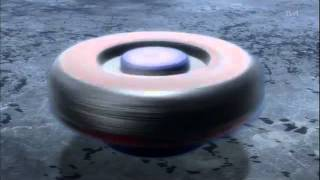 Metal Fight Beyblade 4D Yuki VS Ryuga