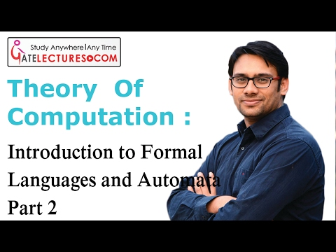 02 Introduction to Formal Languages and Automata Part 2