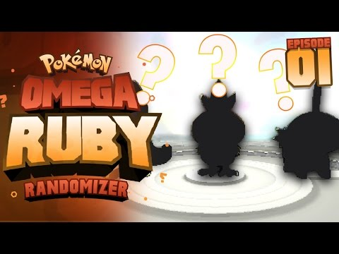 GETTING DESTROYED ALREADY!? - Pokémon Omega Ruby & Alpha Sapphire RANDOMIZER Nuzlocke Episode 1!