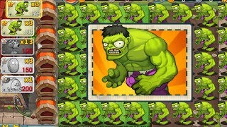 Plants vs Zombies 3 ONLINE Zombie Hulk - TEAM PLANTS vs ZOMBOSS FIGHT!