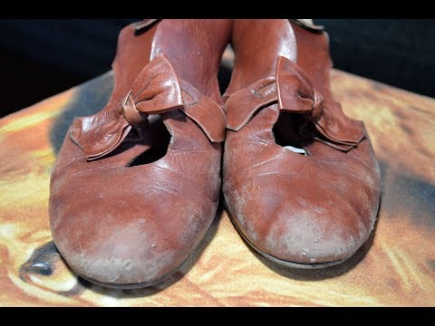Ремонт обуви. Очень сильные потертости
