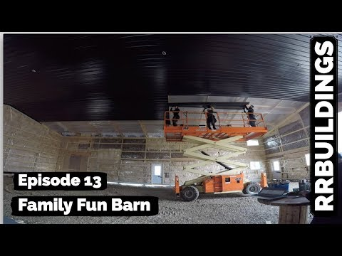 Family Fun Barn Episode 13 (THE BLACK CEILING)
