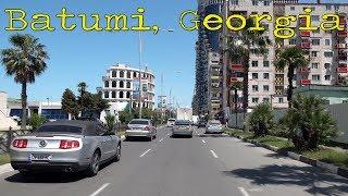 Driving in Batumi Georgia 4K
