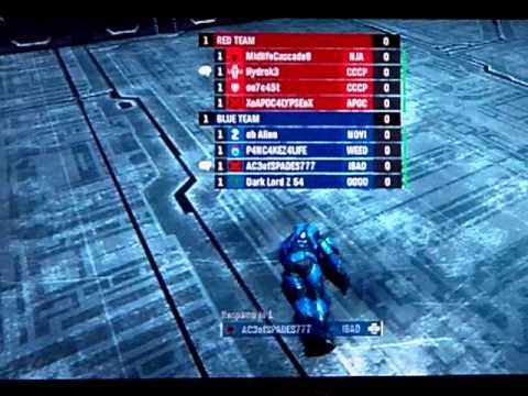 Halo: Grifball red vs. blue commantary