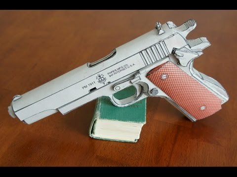 Papercraft Colt 1911 Youtube