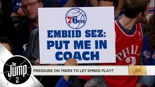 Windhorst: The 76ers aren't 'babying' Joel Embiid, they're 'protecting' him | The Jump | ESPN
