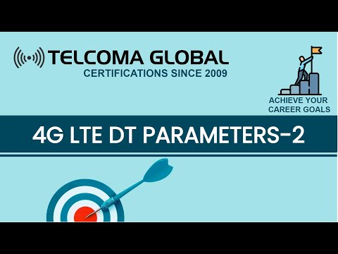 4G LTE Drive Test (DT) parameters (Part 2) course by TELCOMA Training