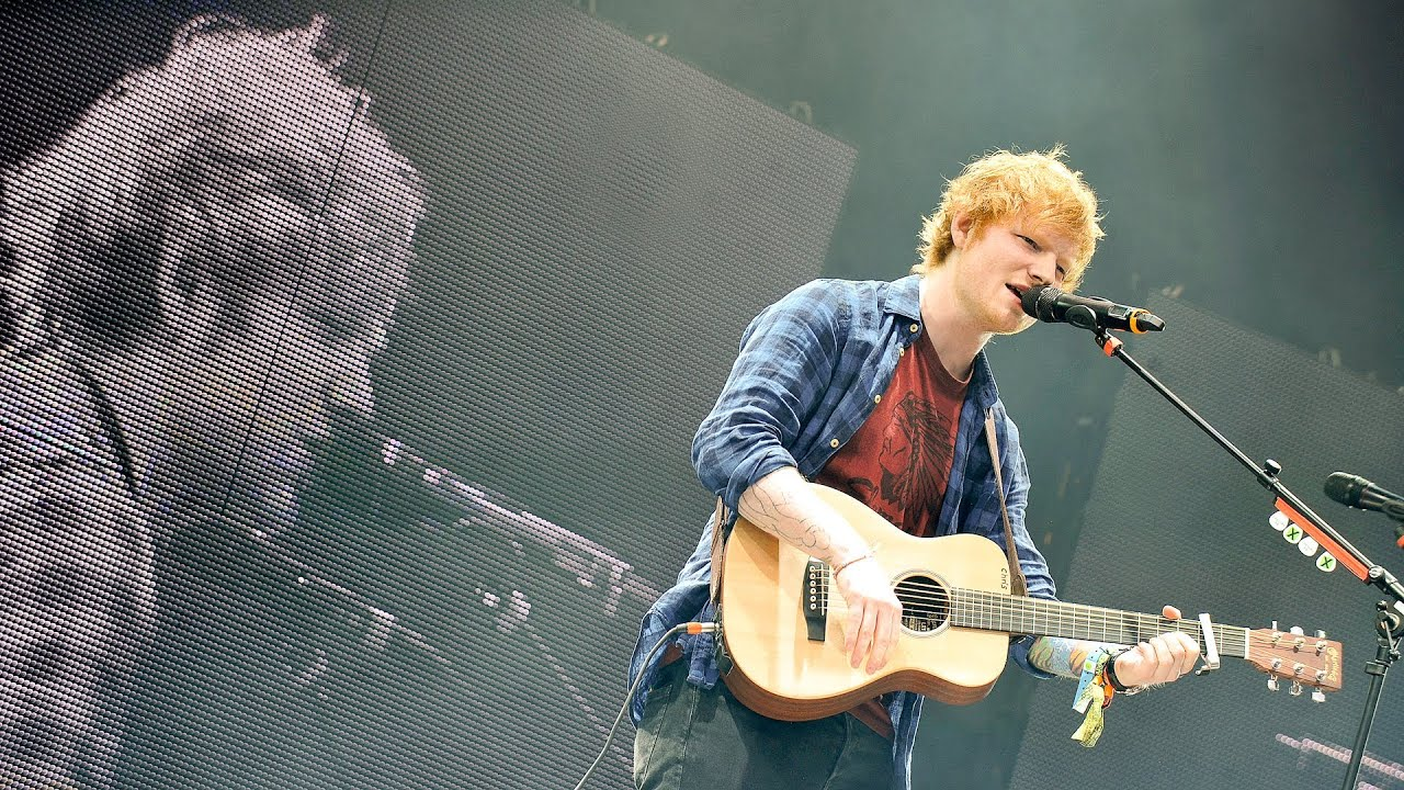 ed sheeran sing at glastonbury 2014 youtube. Black Bedroom Furniture Sets. Home Design Ideas
