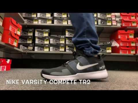 varsity compete 2 trainer sneaker