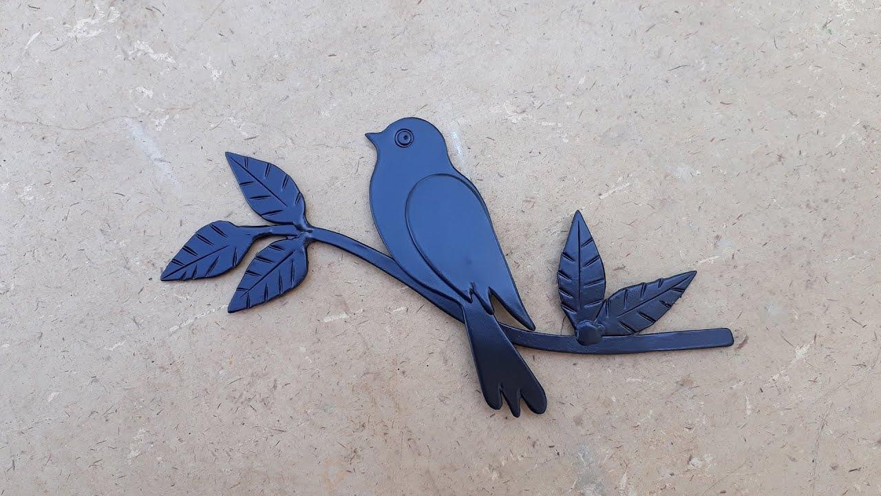 Птица из листового металла