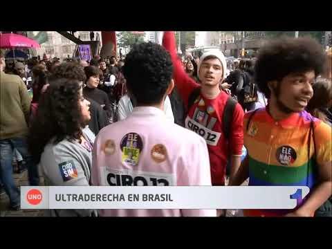 Habrá segunda vuelta electoral en Brasil entre Bolsonaro y Haddad