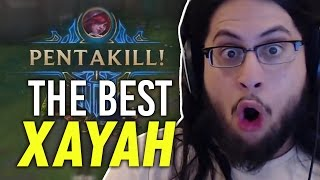 Imaqtpie - DOUBLE PENTAKILL WITH XAYAH!