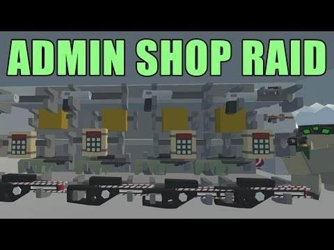 Unturned SEATTLE ADMIN SHOP RAID - Unturned Vanilla Survival/PVP