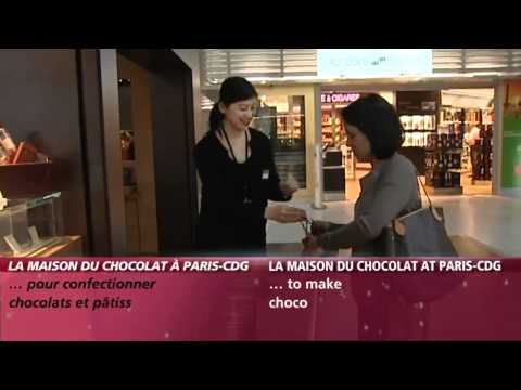 Aéroports de Paris - La Maison du Chocolat à Paris-CDG / La maison du Chocolat at Paris-CDG