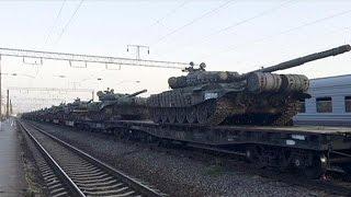 روسيا تحشد قرب حدود أوكرانيا وجنود يتحدّثون عن تدريب عسكري   29-5-2015