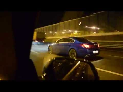 BMW 328GT 245 hp vs Opel Insignia OPC 325 hp