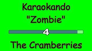 Karaoke Internazionale - Zombie - The Cramberries ( Lyrics )