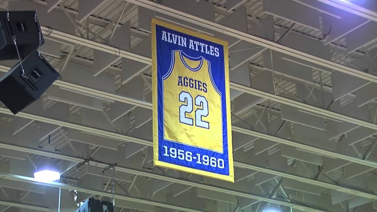 Al Attles Jersey Retired at NC A&T