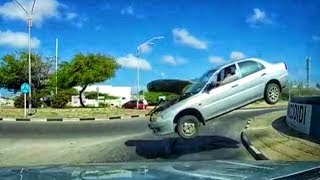 UNEXPLAINED CAR CRASH