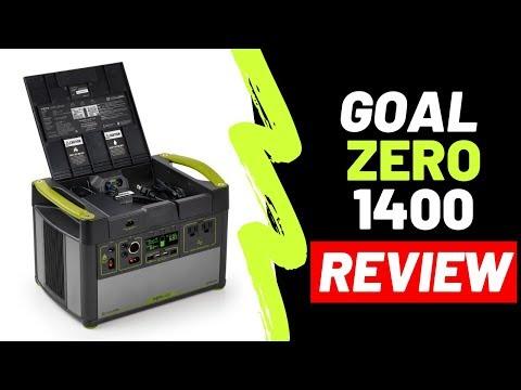 GOAL ZERO YETI 1400 LITHIUM  Tech Video Review
