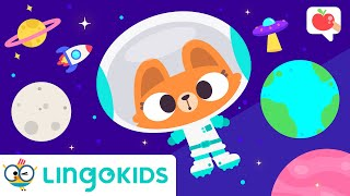 PLANETS for Kids & OUTER SPACE 🪐 VOCABULARY, SONGS, GAMES | Lingokids