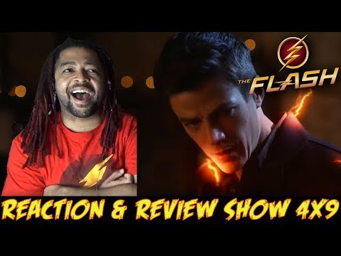 THE FLASH SEASON 4 MID SEASON FINALE REACTION & RECAP SHOW!!!