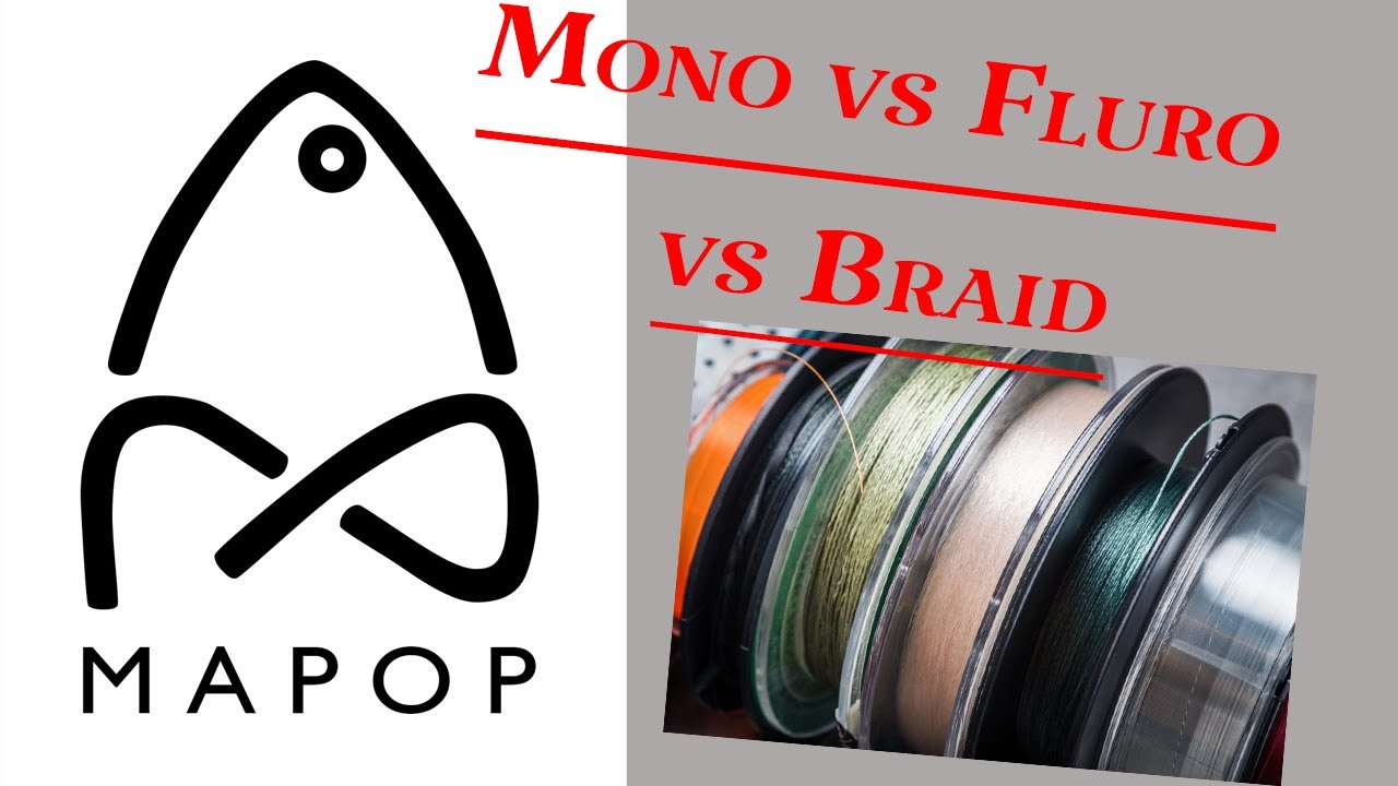 Monofilament vs Flurocarbon vs Braid with custom fishing lures!