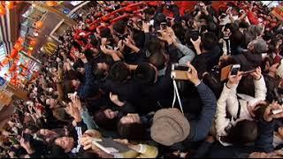 欅坂46の長濱ねるちゃんが長崎ランタンフェスティバルの皇帝パレードで...