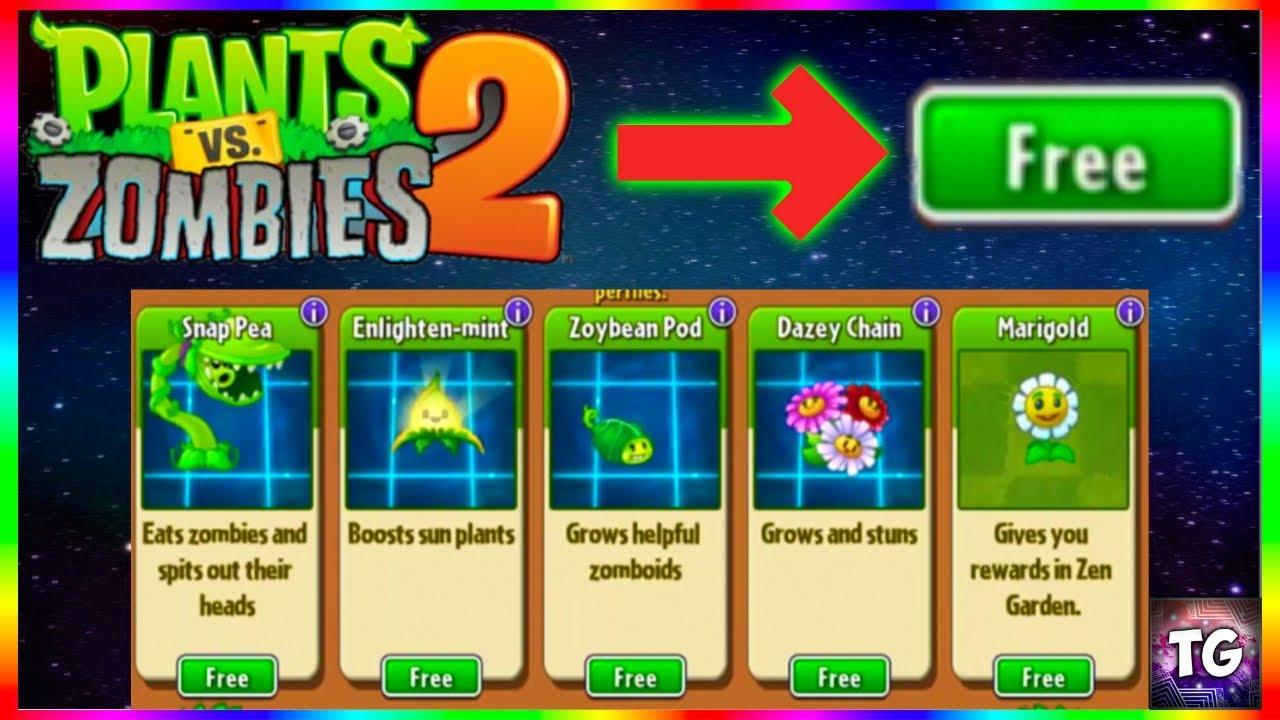 New Hack Plants Vs Zombies 2 Free Shop Youtube