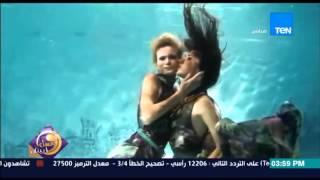 عسل أبيض - فيديو | لعرض أزياء عالمي تحت الماء يبهر الجميع ويجذب الأنظار له