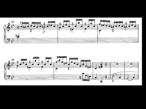 Mozart. Sonata para piano nº 17 en si bemol mayor Kv 570I-Allegro. Partitura e Interpretación