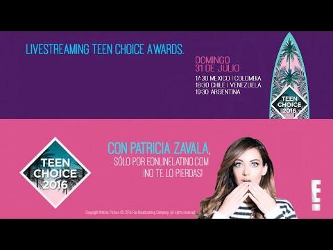 En vivo desde los Teen Choice Awards 2016