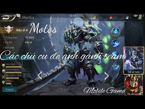 Liên Quân Mobile: Mortos - Chúa tể Xương đi rừng cực mạnh - Mobile Game