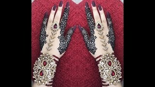 Special back hand mehndi design for eid#5 || hayat beauty trend ||