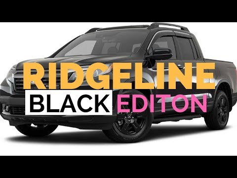 2019 HONDA RIDGELINE REDESIGN BLACK EDITION