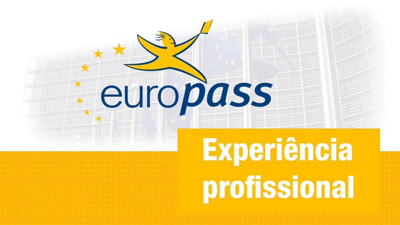 CV Europass Experiªncia Profissional