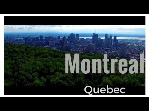 Montreal, Québec, Canada Drone Video Intro - 4K