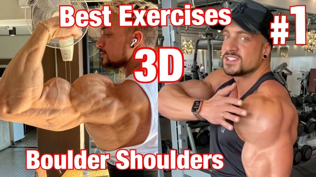 MUST TRY Exercises for 3D Delts / Massive Shoulders