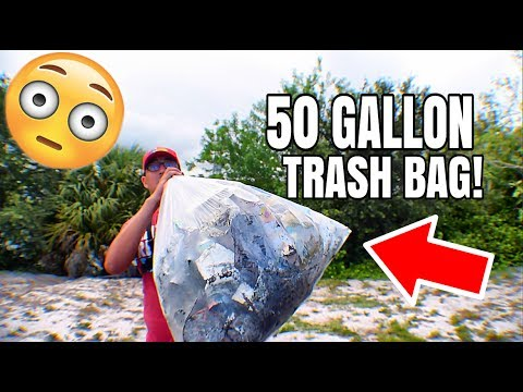 You Won't Believe How Much Trash Can Be Collected From a Small Pond In South Florida?????