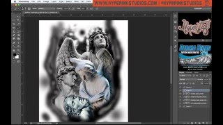 How to use photoshop for tattoo designs