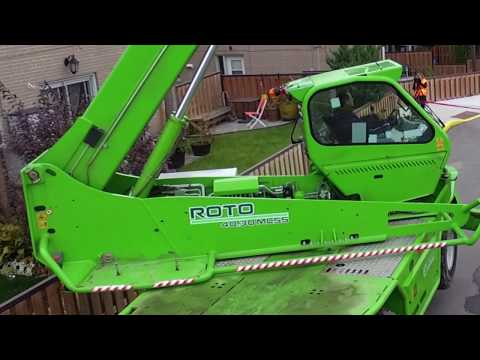 Merlo: Ultimate Equipment In The Roofing Industry
